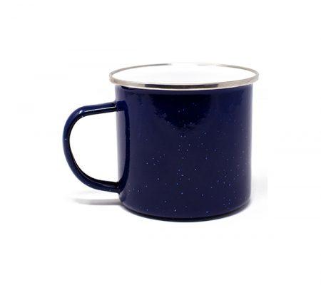 Campfire 17oz speckled mug: blue