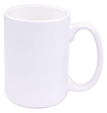 White El Grande 15oz mug with handle