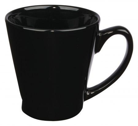 Black Funnel 12oz handled mug