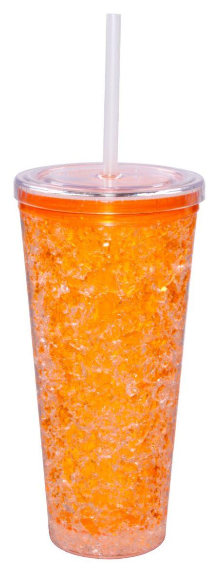 Orange Gel Freezer Journey Tumbler 16oz