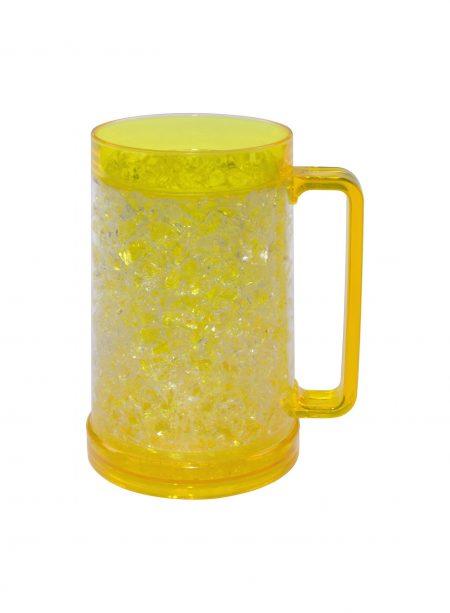 Yellow 16oz Gel Freezer Mug