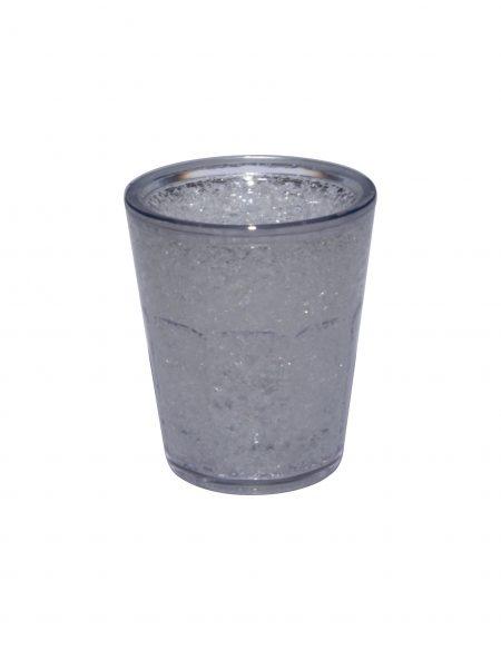 Grey Freezer Gel Shot: 1.5oz
