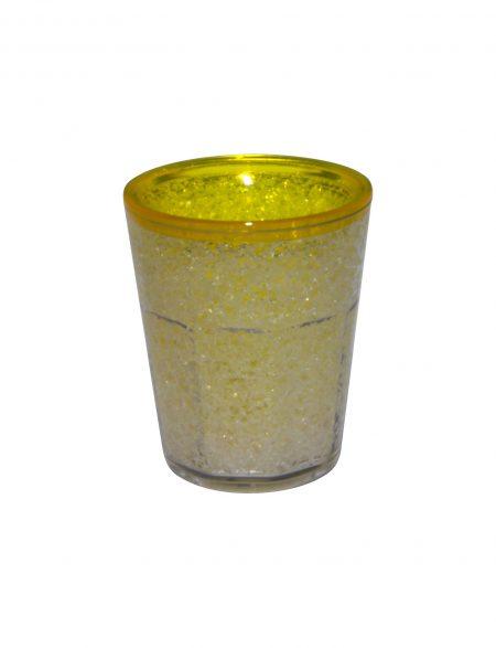 Yellow Freezer Gel Shot: 1.5oz