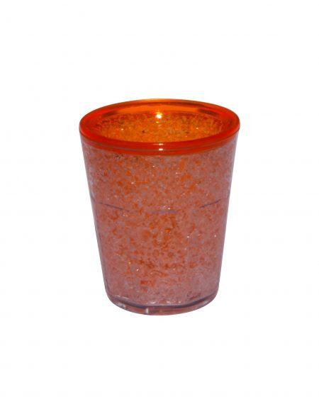 Orange Freezer Gel Shot: 1.5oz