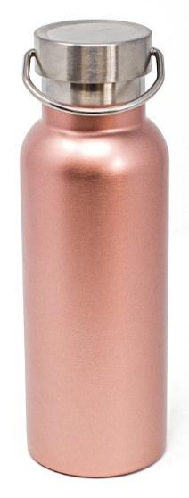 Caribe bottle: 17oz-Vacuum Insulated rose pink