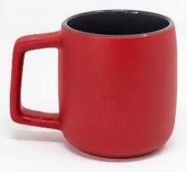 Spartan 14oz ceramic mug: red