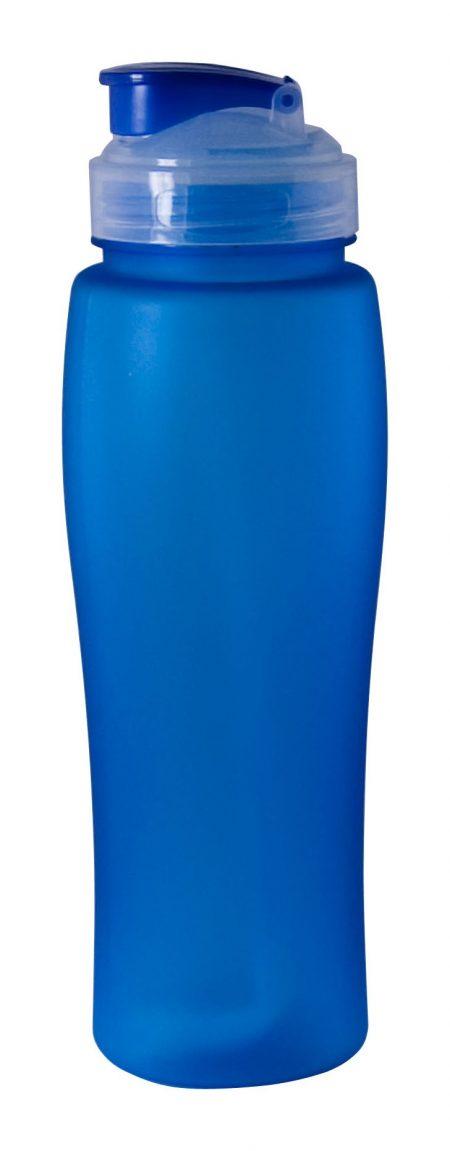 Blue Neon 23oz plastic bottle with flip lid