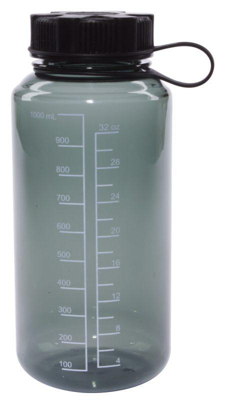 Grey 30oz Round Tritan bottle