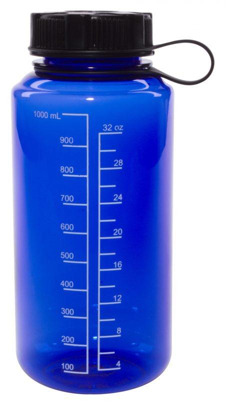 Blue 30oz Round Tritan bottle
