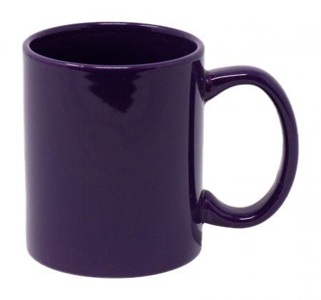 Purple Three Finger C-Handle 11oz Mug