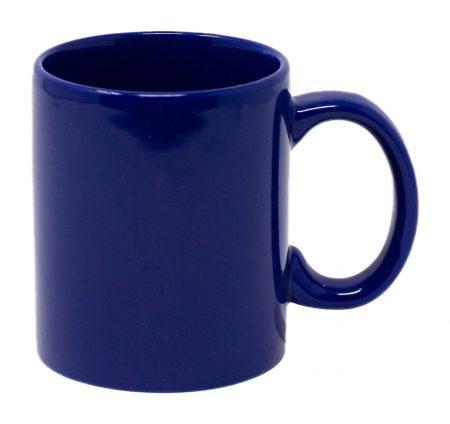 Blue Three Finger C-Handle 11oz Mug