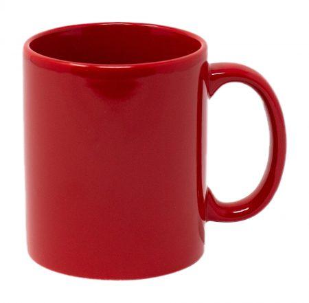 Red Three Finger C-Handle 11oz Mug