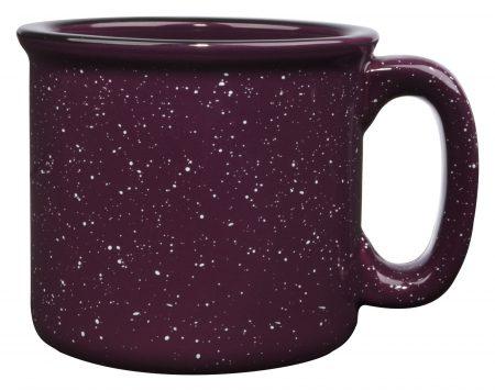 Plum 15oz western vintage mug with handle